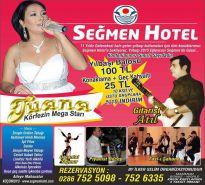 Seymen Otel Yılbaşı Programı Afiş